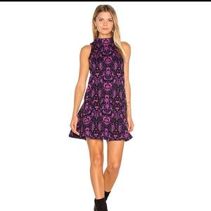 Free People Dresses - Free people Amelia Knit Dress in Purple Combo